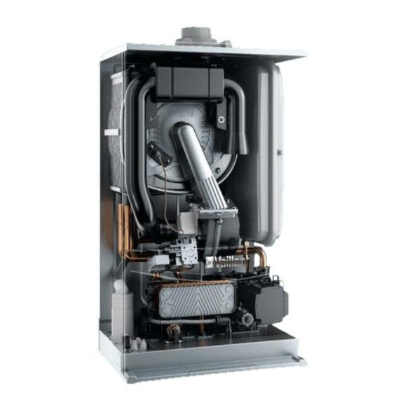 Energiacímke a VAILLANT ecoTEC pure VUW H-INT II 236/7‑2 kondenzációs kombi (cirkó) gázkazánhoz