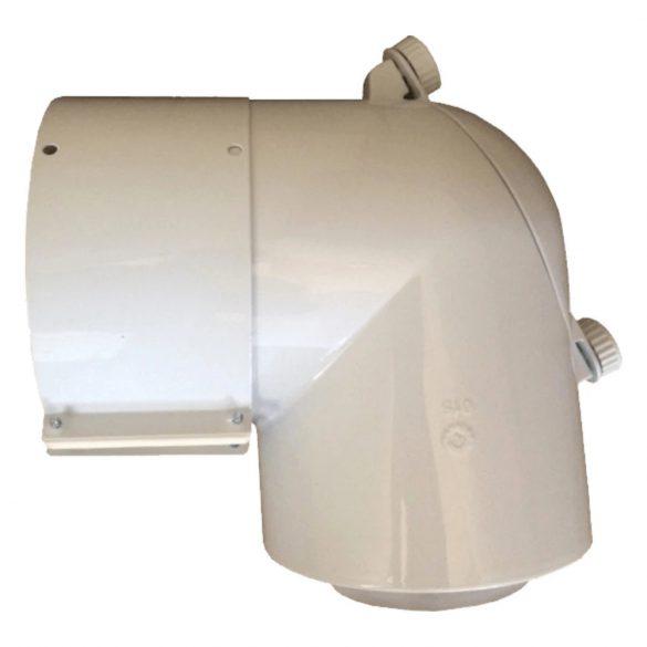Saunier Duval koncentrikus ellenőrző T idom PPS/alu 80/125mm
