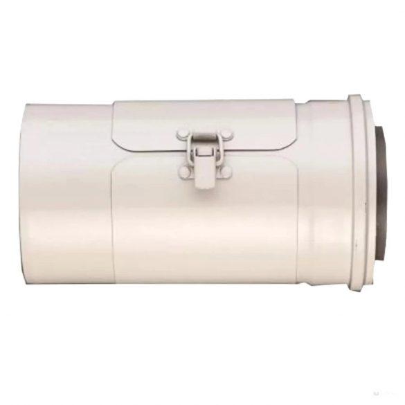 Saunier Duval koncentrikus ellenőrző idom, egyenes, PPs/alu 80/125mm