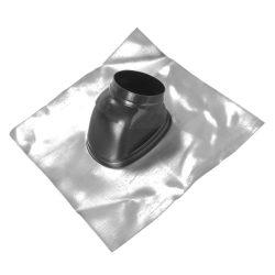 Saunier Duval ferdetető átvezetés 25-45° tetőhöz, fekete színben 80/125mm