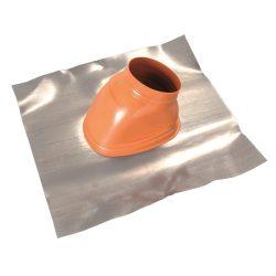 Saunier Duval ferdetető átvezetés 25-45° tetőhöz, téglavörös színben 80/125mm
