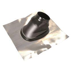 Saunier Duval ferdetető átvezetés 33-55° tetőhöz, fekete színben 80/125mm