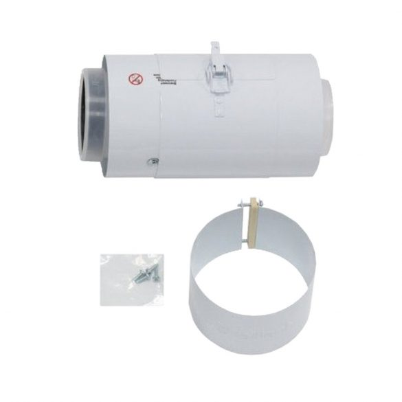 Saunier Duval koncentrikus egyenes ellenőrző idom PPs/alu 80/125mm