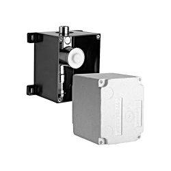 SCHELL Compact 2 piszoár beépítő szett, falba süllyesztett szerelés, érintés nélküli infravörös vezérlésű szelephez
