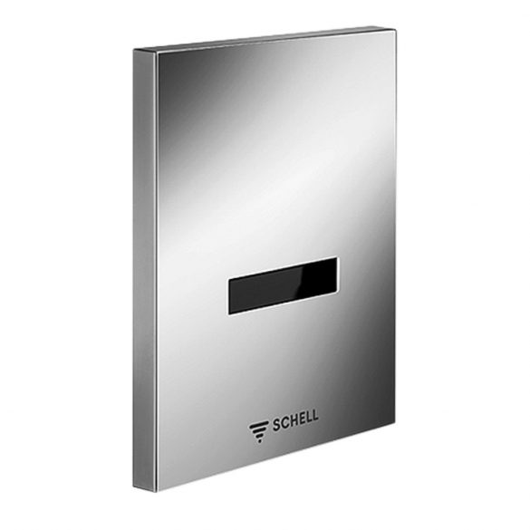SCHELL Edition piszoár öblítő szelep, érintés nélküli infravörös vezérlés, 230V