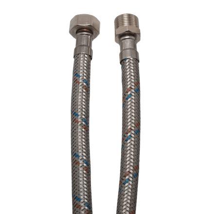 """Flexibilis cső vízre 30cm, 1/2"""" KB"""