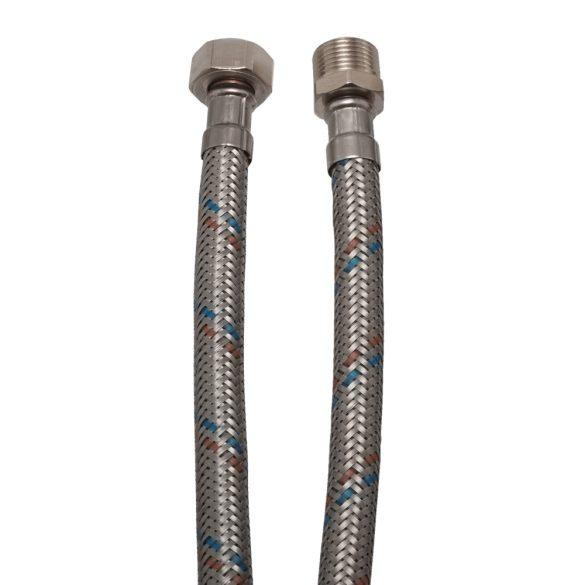 """KEF flexibilis bekötőcső vízre 30cmx1/2""""KB (MATEU)"""