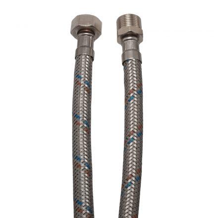 """Flexibilis cső vízre 15cm, 3/8"""" KB"""