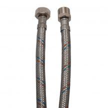 """KEF flexibilis bekötőcső vízre 20cmx3/8""""KB (MATEU)"""