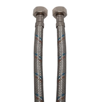 """KEF flexibilis bekötőcső vízre 35cmx1/2""""B (MATEU)"""