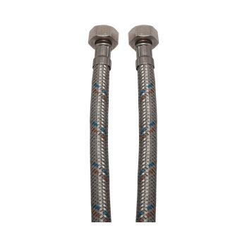 """KEF flexibilis bekötőcső vízre 50cmx1/2""""B (MATEU)"""