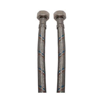 """KEF flexibilis bekötőcső vízre 50cmx3/8""""B (MATEU)"""