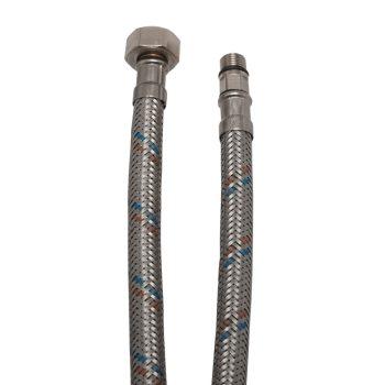 """KEF flexibilis bekötőcső vízre 40cmxM10x18x3/8""""KB (MATEU)"""