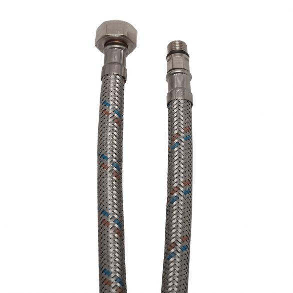 """KEF flexibilis bekötőcső vízre 40cmxM10x18x1/2""""KB (MATEU)"""