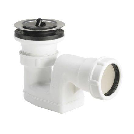 """VIEGA 6888.19 zuhanytálcaszifon leeresztőszeleppel, 40mm lefolyóval,70x6/4""""/40mm"""
