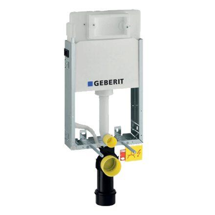 GEBERIT Kombifix Basic falsík alá építhető WC szerelőelem UP100 tartállyal