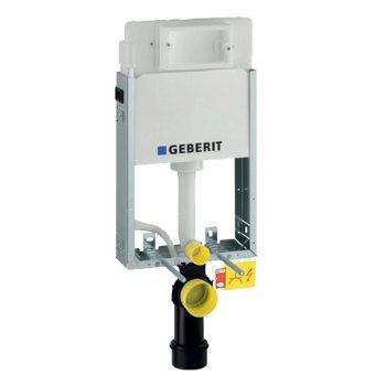 GEBERIT Kombifix Basic WC szerelőelem tartállyal, falba építhető, UP100-zal