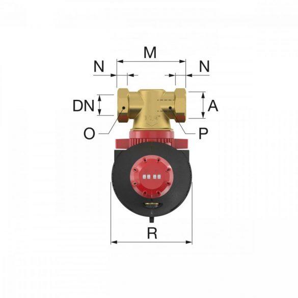 """FLAMCO XStream Clean mágneses iszapleválasztó, szigeteléssel, 3/4""""B"""