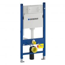 GEBERIT Duofix Basic WC szerelőelem tartállyal, falba ép,UP100-zal
