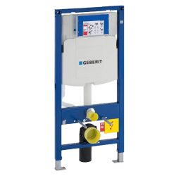 GEBERIT Duofix falsík mögötti WC szerelőelem UP320 tartállyal
