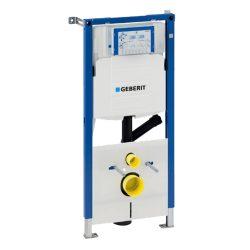GEBERIT Duofix WC szerelőelem tartállyal, falba ép, UP320-szal, szagelszívó csatl.