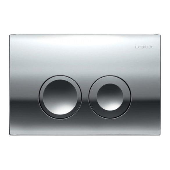 GEBERIT Delta21 nyomólap Basic WC-tartályhoz, fényes króm