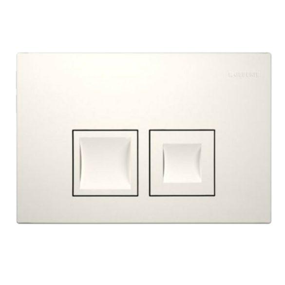 GEBERIT Delta50 nyomólap Basic WC-tartályhoz, fehér