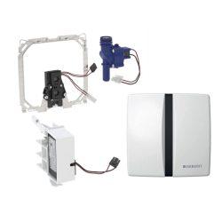 GEBERIT Basic vizelde elektronika, infrás, fém takarólap, fehér, 230V