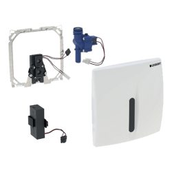 GEBERIT BASIC automata vizelde elektronika, infrás, mű takarólap,fehér, 230V