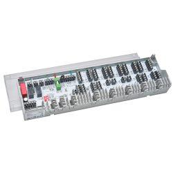 FixTrend B 20502-10N2 vezetékes szabályzó, 10 zónás, szivattyú/kazán indító, hűtés/fűtés, 230V