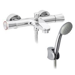 MOFÉM Golf kád csaptelep, Basic zuhanyszettel