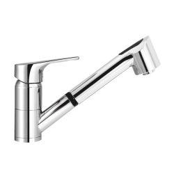MOFÉM Junior Evo mosogató csaptelep, kihúzható, vízkőmentes, 2funkciós zuhanyfejjel
