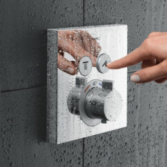 HANSGROHE ShowerSelect falsík alatti termosztát image kép
