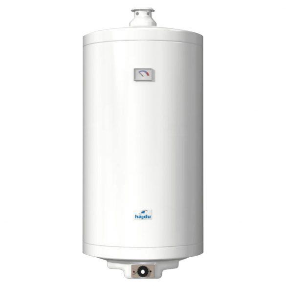HAJDU GB 120.2 tárolós vízmelegítő, gázüzemű, kémény nélküli, 120l