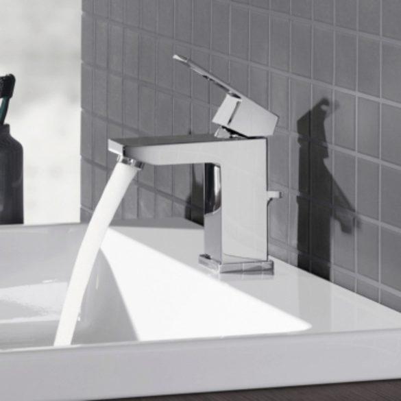GROHE Eurocube egykaros mosdó csaptelep, leeresztőszeleppel, króm kivitel