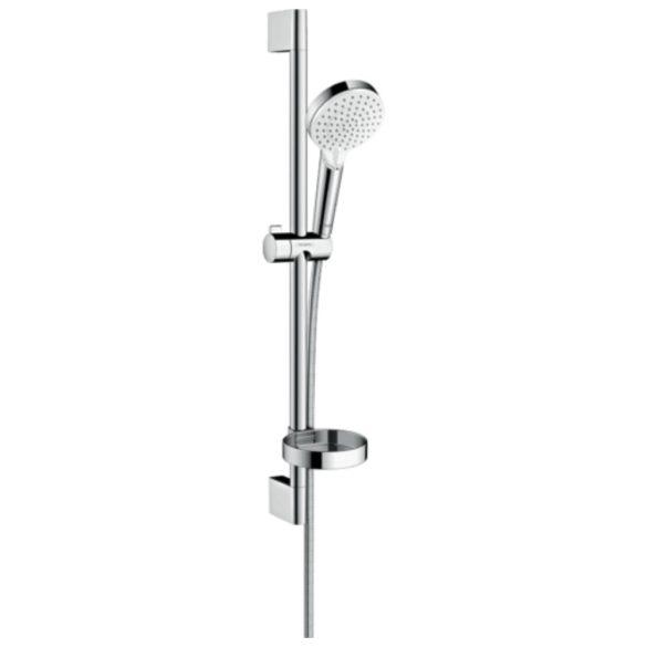 Hansgrohe Crometta zuhanyszett Vario 65 cm-es zuhanyrúddal és szappantartóval