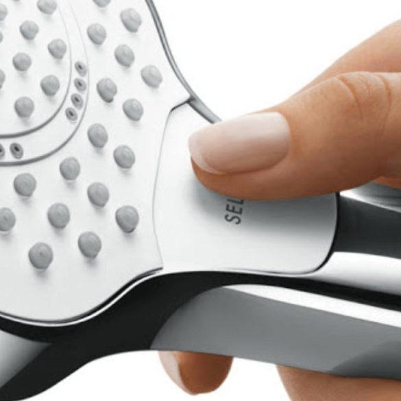 HANSGROHE Croma Select E zuhanyszett méretek- Vario 65cm-es zuhanyrúddal csomagolt kivitel