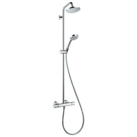 HANSGROHE Croma 160 Showerpipe zuhanyszett, 270mm-es zuhanykarral, króm kivitel