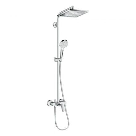 HANSGROHE Crometta E Showerpipe 240 1jet zuhanyszett, egykaros csapteleppel, króm kivitel