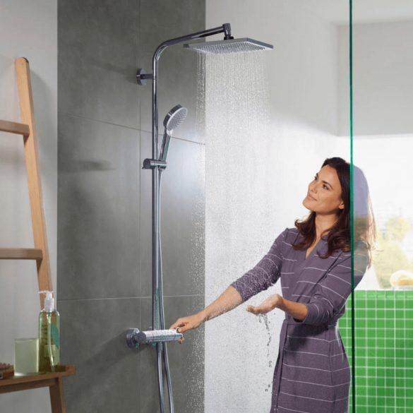 HANSGROHE Crometta E 240 Showerpipe 1jet zuhanyszett, króm
