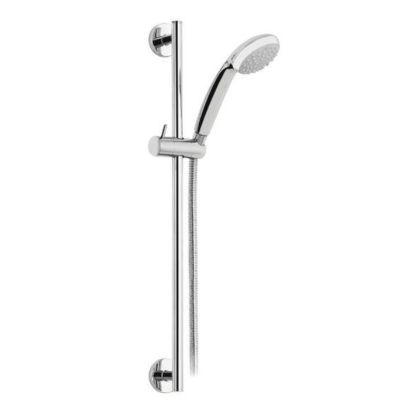 MOFÉM Ducal zuhanyszett, Basic zuhanytartó rúddal, kézizuhany, fém gégecső