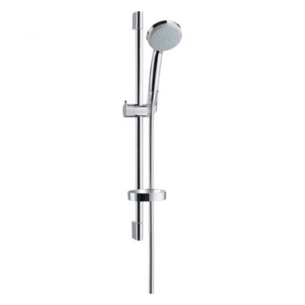 HANSGROHE Croma 100 zuhanyszett Vario 65 cm-es zuhanyrúddal és szappantartóval
