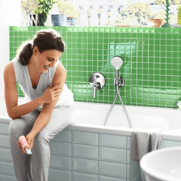HANSGROHE Isiflex zuhanygégecső, 1250mm, króm