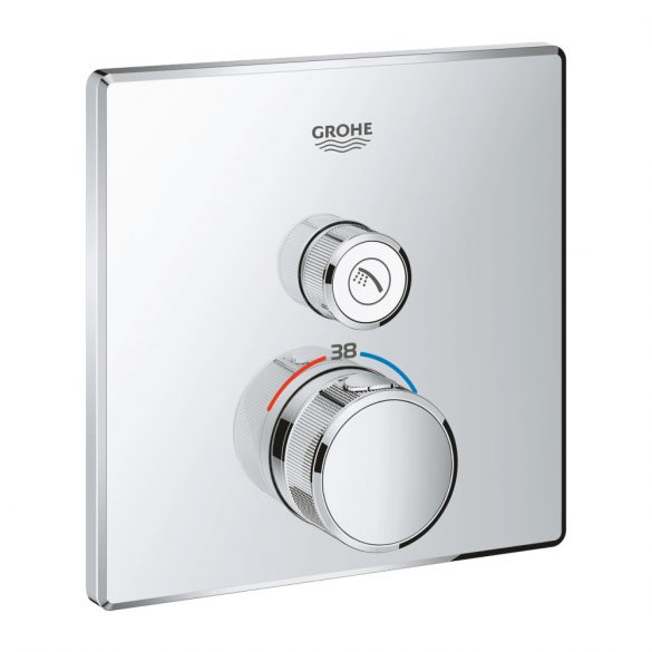 GROHE Grotherm SmartControl termosztatikus zuhany csaptelep, króm