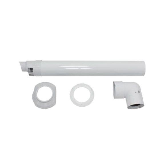 VAILLANT koncentrikus vízszintes oldalfali kivezetés PPs/alu 80/125mm