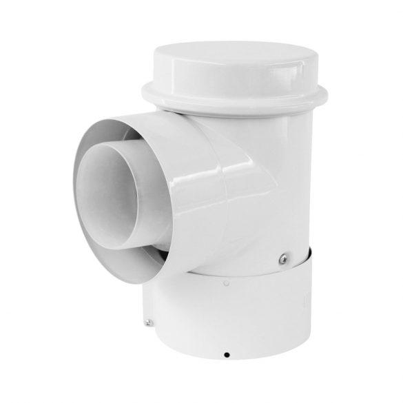 VAILLANT koncentrikus könyök 90° tisztitónyílással PPs/alu 80/125mm