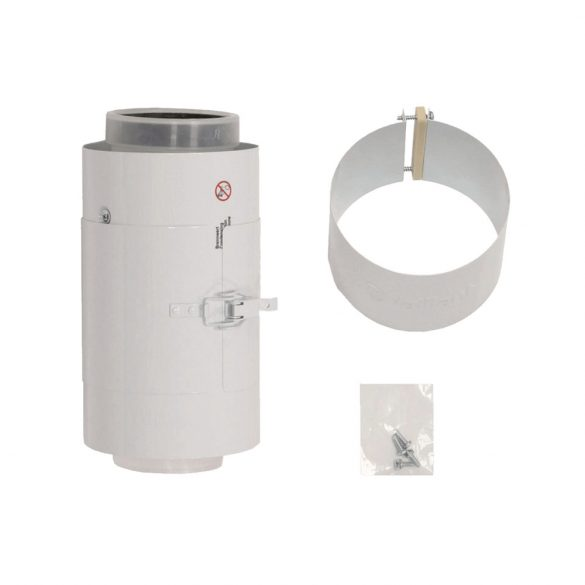 VAILLANT koncentrikus egyenes ellenőrző idom PPs/alu 80/125mm