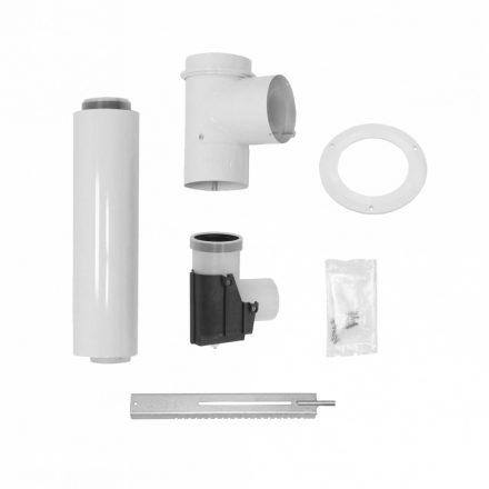 VAILLANT koncentrikus csatlakozó rendszer kéményaknába kötéshez PPs/alu 60/100 mm