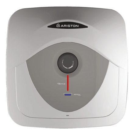 ARISTON AN RS 15 literes alsó elhelyezésű villanybojler, ERP tárolós vízmelegítő, 1.2kW