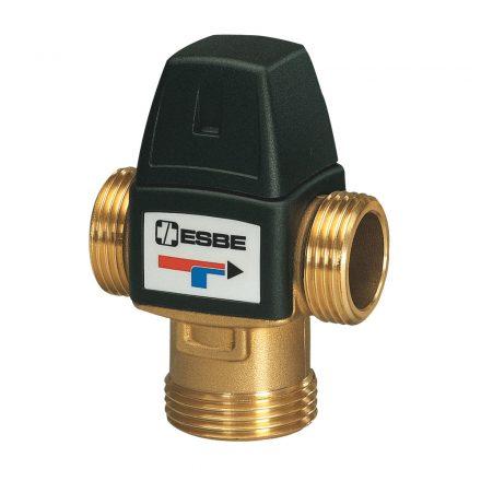 """ESBE VTA322 termosztatikus háromjáratú keverőszelep, 20-43°C, Kvs=1.5, 3/4""""K"""